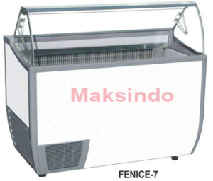 Mesin Ice Cream Scooping Cabinet 4