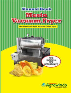 Mesin Vacuum Frying 1,5 kg 2