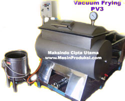 Mesin Vacuum Frying 50 kg