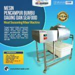 Jual Mesin Pencampur Bumbu Daging dan Seafood di Denpasar, Bali