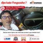 Jual Mesin Spinner di Denpasar, Bali