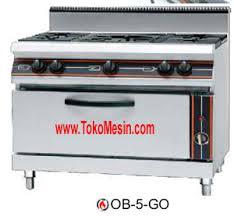 Mesin Gas Open Burner (Kompor Kabinet)-tokomesinbali