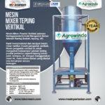 Jual Mesin Mixer Tepung Vertikal di Bali