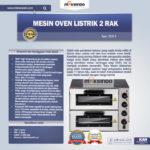 Mesin Oven Listrik 2 Rak Harga Hemat (New) Di Bali