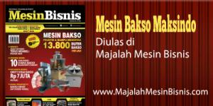 Jual Paket Mesin Pembuat Bakso Maksindo Terbaru di Bali