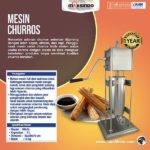Mesin Pencetak Churros (Spanyol)