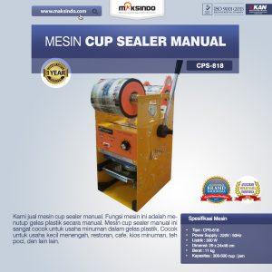 Jual Mesin Cup Sealer Manual NEW di Bali