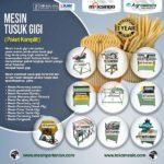 Jual Mesin Tusuk Gigi (paket komplit) di Bali