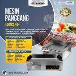 Jual Mesin Pemanggang Griddle (listrik) – EEG818 di Bali