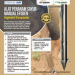 Jual Alat Penanam Sayur (Vegetable Transplanter) Stainless di Bali
