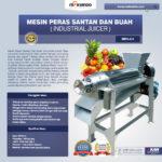 Jual Mesin Peras Santan dan Buah (Industrial Juicer) di Bali