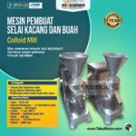 Jual Mesin Pembuat Selai Kacang dan Buah (Colloid Mill) di Bali