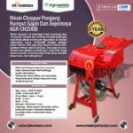Jual Mesin Chopper Perajang Rumput-Ranting -AGR-CH200B di Bali