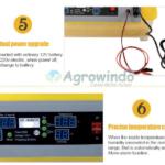 Jual Mesin Penetas Telur Otomatis 48 Butir – AGRTT48 di Bali