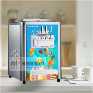 Jual Mesin Soft Ice Cream 3 Kran (Italia Compressor) – ISC-316 di Bali