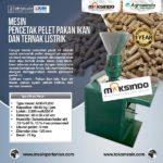 Jual Mesin Cetak Pelet Pakan Ikan dan Ternak Listrik – AGR-PL220 di Bali