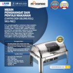 Jual Chafing Dish Oblong Roll Top – 9 Liter – MKSPM23 di Bali