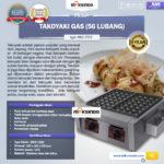 Jual Mesin Takoyaki Gas (56 Lubang) di Bali
