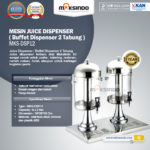 Jual Juice Dispenser / Buffet Dispenser 2 Tabung di Bali