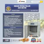 Jual Mesin Tetas Telur Industri 264 Butir (Industrial Incubator) do Bali