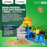 Jual Mesin Pencetak Pelet Ikan Terapung (Diesel) di Bali
