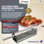 Jual Alat Cetak Sosis Horizontal Stainless 3 – 7 liter (MKS-3H) di Bali
