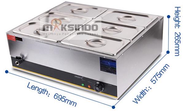 mesin-bain-marie-penghangat-makanan-ebm-type-7