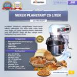 Jual Mesin Mixer Planetary 20 Liter NEW High Quality (MKS-BK20M) di Bali