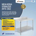 Jual Meja Kerja Stainless (WTS-182) di Bali