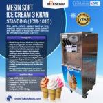 Jual Mesin Es Krim 3 Kran Standing ICM-1010 di Bali