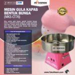 Jual Mesin Gula Kapas Bentuk Bunga (MKS-CT76) di Bali