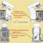 Jual Mesin Mixer Planetary 10 Liter (MPL-10) di Bali