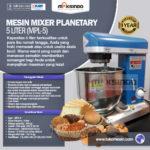 Jual Mesin Mixer Planetary 5 Liter (MPL-5) di Bali