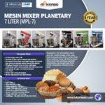 Jual Mesin Mixer Planetary 7 Liter (MPL-7) di Bali
