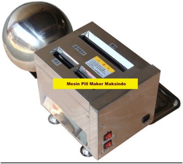Mesin-Pembuat-Pill-Bulat-Herbal-FMS99-6-tokomesin