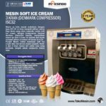 Jual Mesin Soft Ice Cream 3 Kran (Denmark Compressor) – ISC32 di Bali