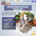 Jual Mesin Vegetable Cutter (MKS-VG23B) di Bali