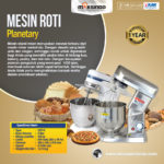 Jual Mesin Mixer Planetary 5 Liter Stainless (SSP-5) di Bali