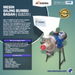 Jual Mesin Giling Bumbu Basah GLB220 di Bali