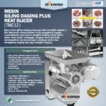 Jual Mesin Giling daging Plus Meat Slicer TMC12 di Bali