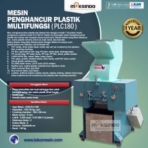 Jual Mesin Penghancur Plastik Multifungsi – PLC180 di Bali