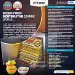 Jual Mesin Food Dehydrator 15 Rak (FDH15) di Bali