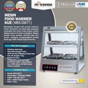 Jual Mesin Food Warmer Kue (MKS-DW77) di Bali