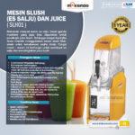 Jual Mesin Slush (Es Salju) dan Juice – SLH01 di Bali