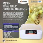 Jual Mesin Penetas Telur 56 Butir (AGR-TT56) di Bali