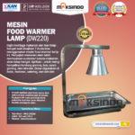 Jual Mesin Food Warmer Lamp – DW220 di Bali