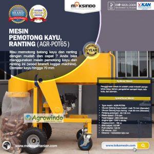 Jual Mesin Pemotong Kayu – Ranting (AGR-POT65) di Bali