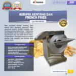 Jual Mesin Keripik Kentang dan French Fries KRP650 di Bali