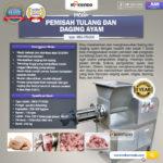 Jual Pemisah Tulang Dan Daging Ayam PTA-300 di Bali