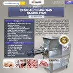 Jual Pemisah Tulang dan Daging Ayam PTA500 di Bali